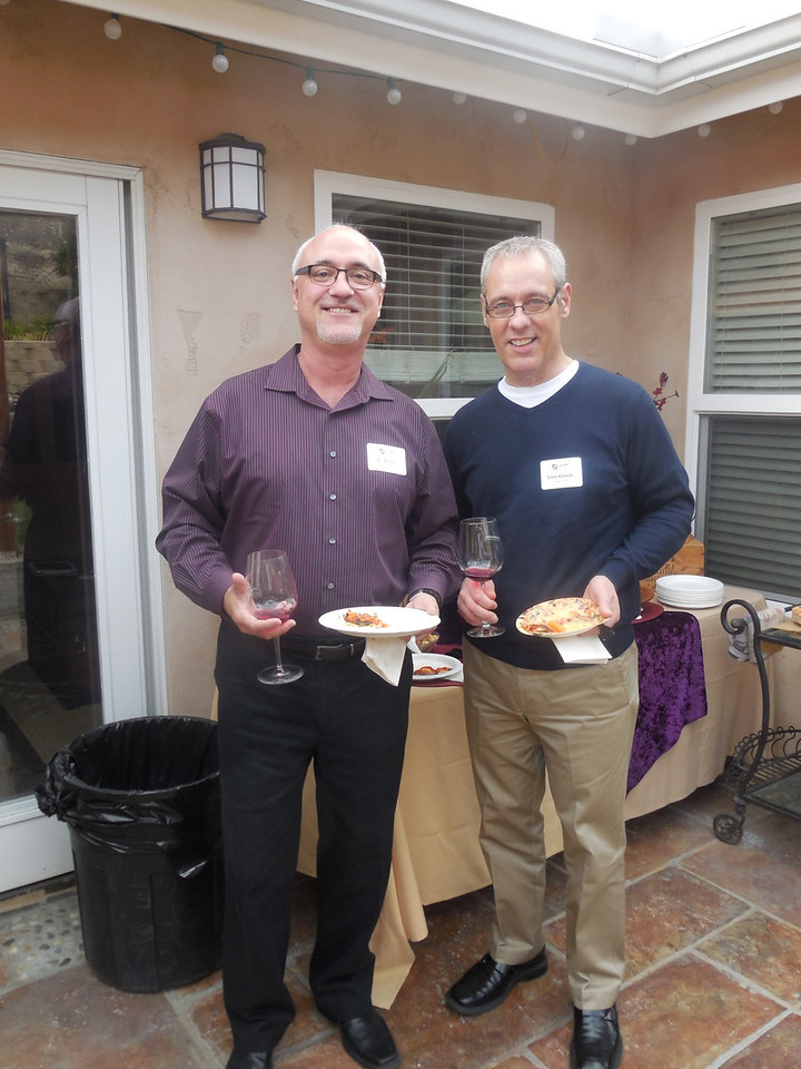 Ric Alonso and Ernie Koneck (Ill. '78)