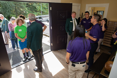Evans Scholars Seattle UW residence dedication event