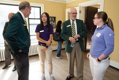 Evans Scholars Seattle UW residence dedication event