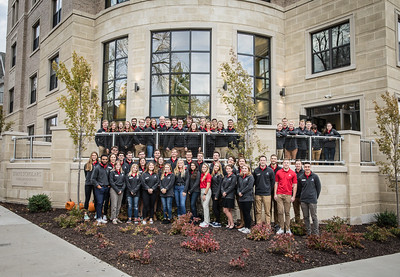 Dedication of the new University pf Wisconsin Scholar House on Saturday October, 19  2019   WGAESF/Charles Cherney Photography