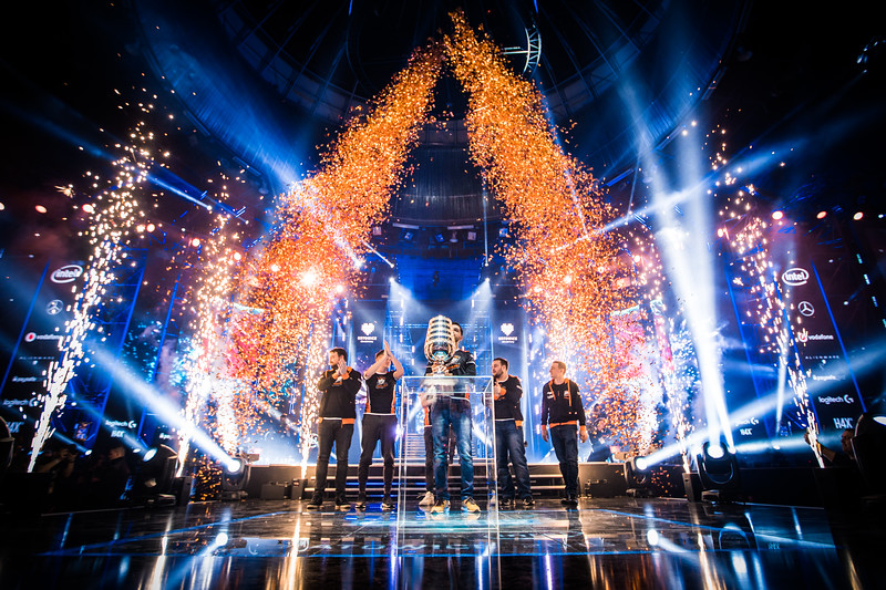 The winners of ESL One Katowice 2018: Virtus Pro!