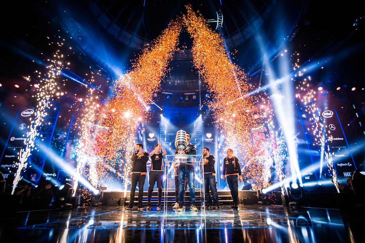 The winners of ESL One Katowice 2018: Virtus Pro!