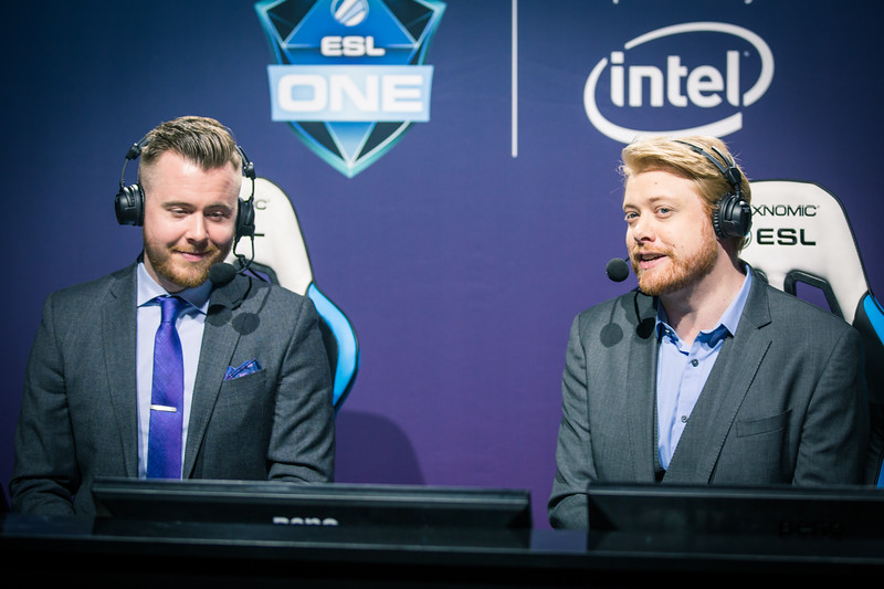 Tobi 'Tobiwan' Dawsen and his co-caster Austin 'CAPITALIST' Walsh are ready to jump into the game