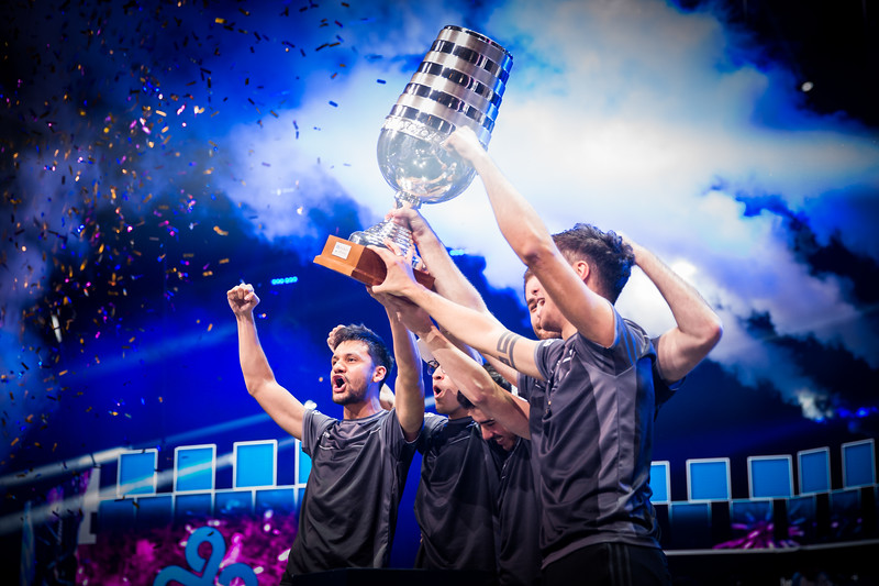 SK Gaming, the Winners of ESL One Cologne 2017