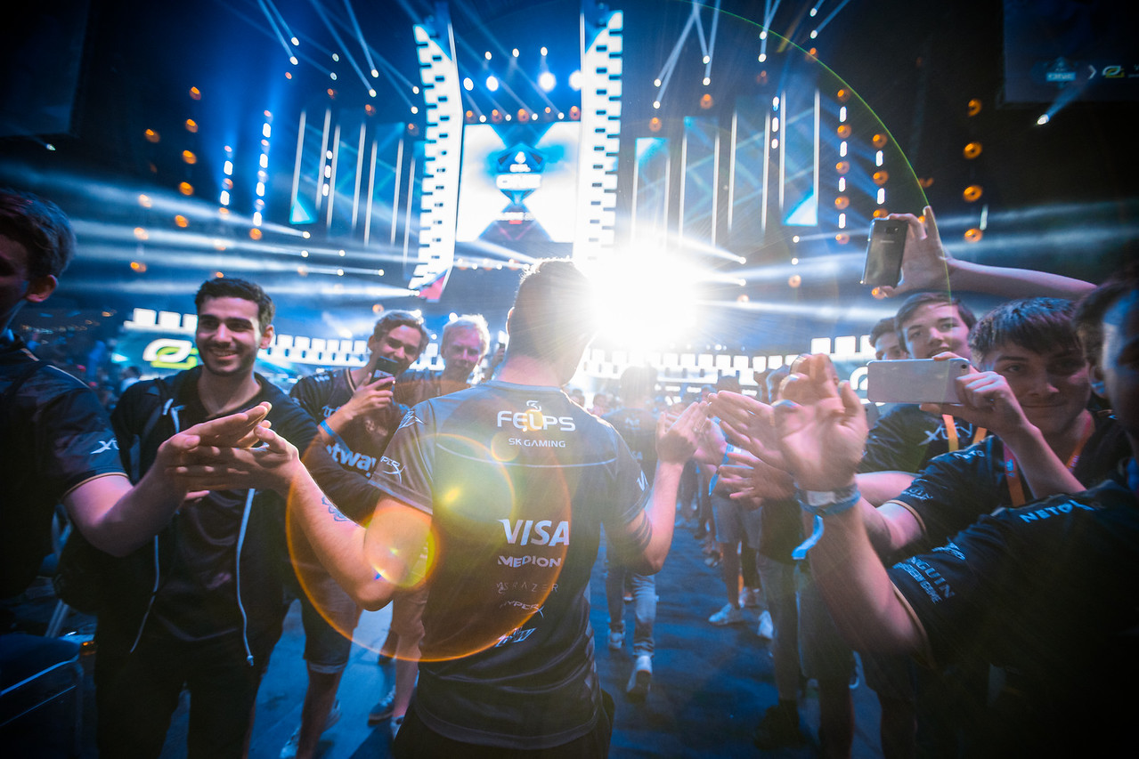 SK Gaming entering the playoff-stage ESL One Cologne 2017