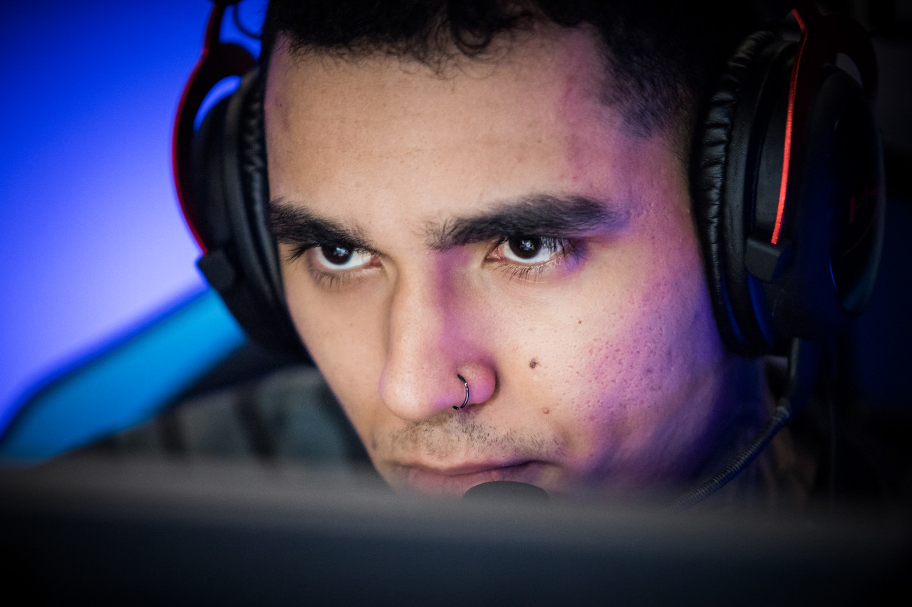 Immortals Lucas1 playing the group stage of ESL One Cologne 2017