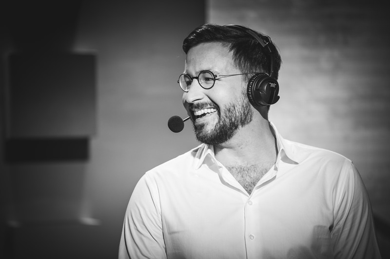 "The Caster Auguste ""Semmler"" Massonnat enjoying the action of the game"