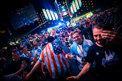 Cloud9 enters the arena to compete in the semi-finals