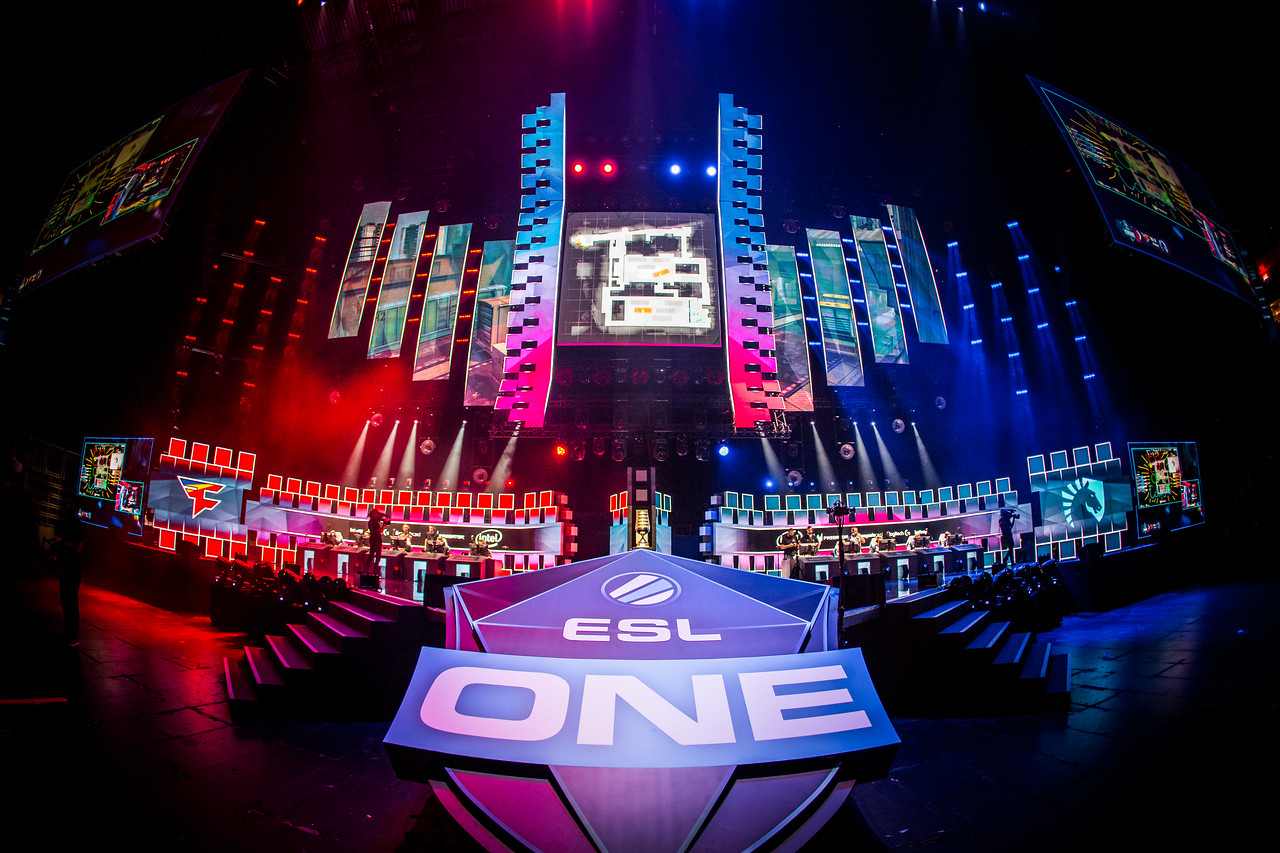 ESL One Cologne's stage