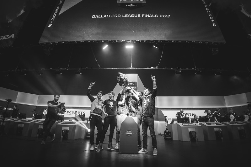 The ESL Pro League Season 5 champions G2 Esports!