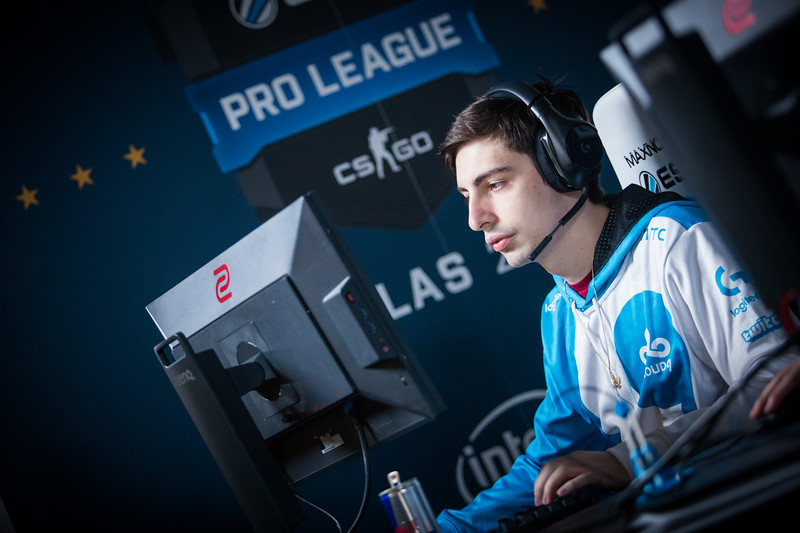 Cloud9's Shroud at the ESL Proleague Group Stage