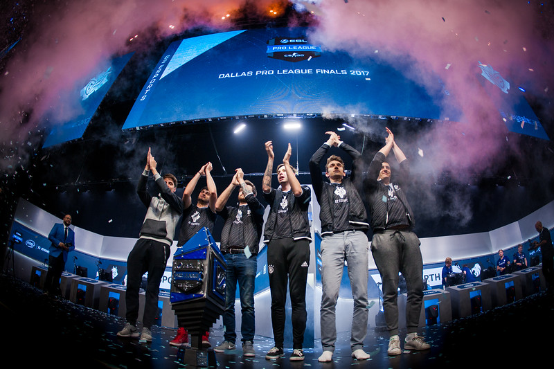 G2 celebrates their victory