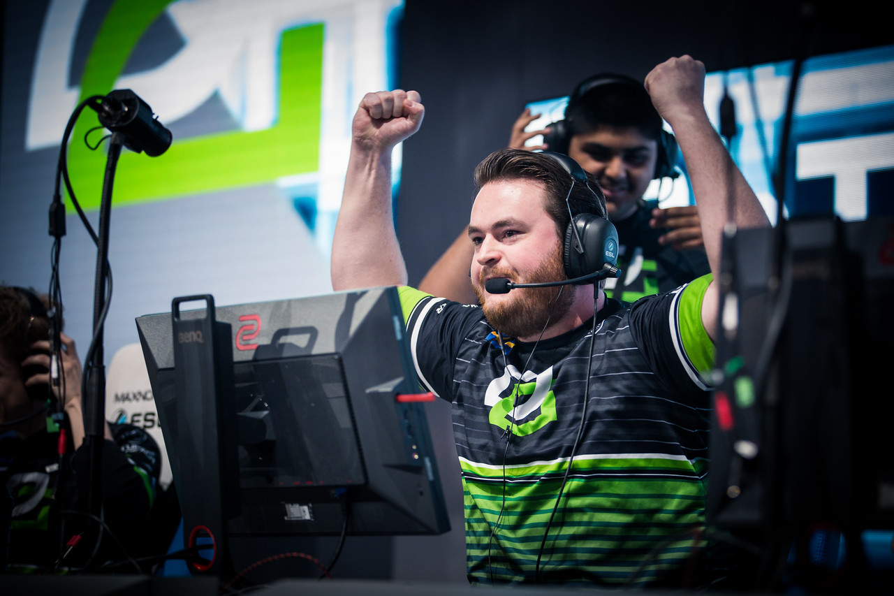 Optic Gaming's friberg is thrilled to get a map win over fnatic in the quarter-finals!