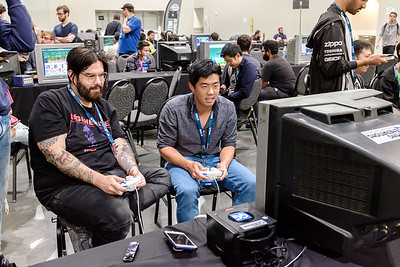 Photos taken at BTS Mainstage Melee and Smash Ultimate major held on the weekend of September 22 at the Ontario Convention Center in 2019. Contact for licensing prior to any use.
