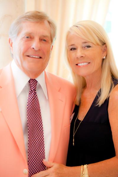 Gracious Host & Hostess, Bill & Ruth Sandbach