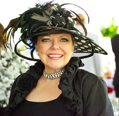 The fabulous hat designer, Anne Sawyer of www.annesawyer.com
