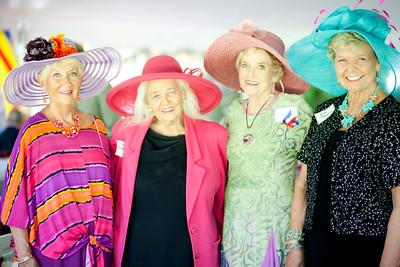 Gay Adelstein, Lucie Blodgett, Mary Anne Richardson, Susan Oeswein