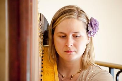 Harpist, Jessica Hyden