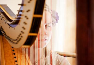 Harpist , Jessica Hyden