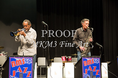 Boulter Middle School Jazz Festival featuring Mreddie Jones trumpet player and the East Texas Jazz Orchestdra.