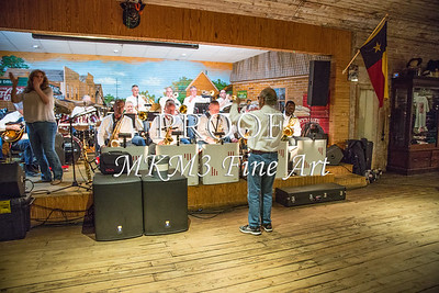The East Texas Jazz Orchestra performing at Moore's Store in beautiful downtown Ben Wheeler, Texas on December 21, 2019.