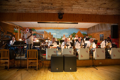 Picture is from the East Texas Jazz Orchestra's performance at Moore's Store in beautiful downtown Ben Wheeler, Texas on September 4, 2021.
