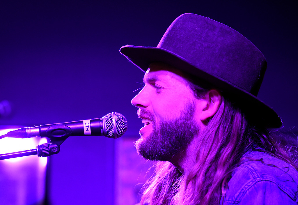 . Hunter Stone performs during a Boulder In-the-Round Songwriter Showcase on Wednesday at the eTown Hall in Boulder. Jeremy Papasso/ Staff Photographer 06/08/2018