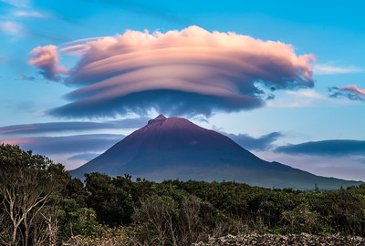 Mount Pico wearing a turban (dedicated to my Mom)