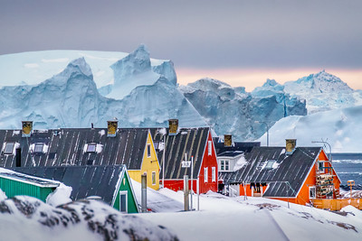 Houses and Icebergs