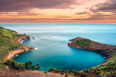 Sunset at Baía das Caldeirinhas