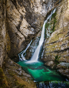 Savica waterfall