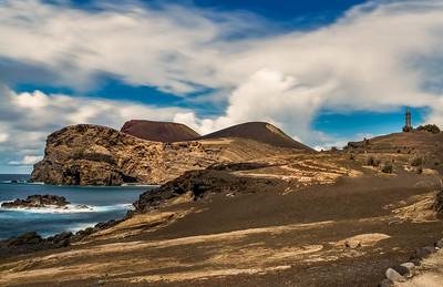Volcano of Capelinhos and Lighthouse