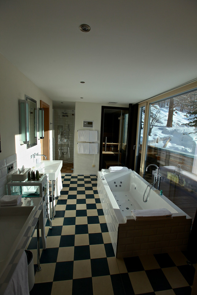 ..and a super palatial bathroom as well.