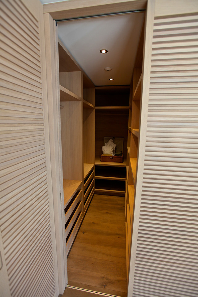 What master bedroom wouldn't be complete without a ton of closet space.