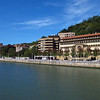 The Estuary of Bilbao lies at the common mouth of the rivers Nervion, Ibaizabal and Cadagua, that drain most of Biscay Bay and part of Alava in the Basque Country, Spain.