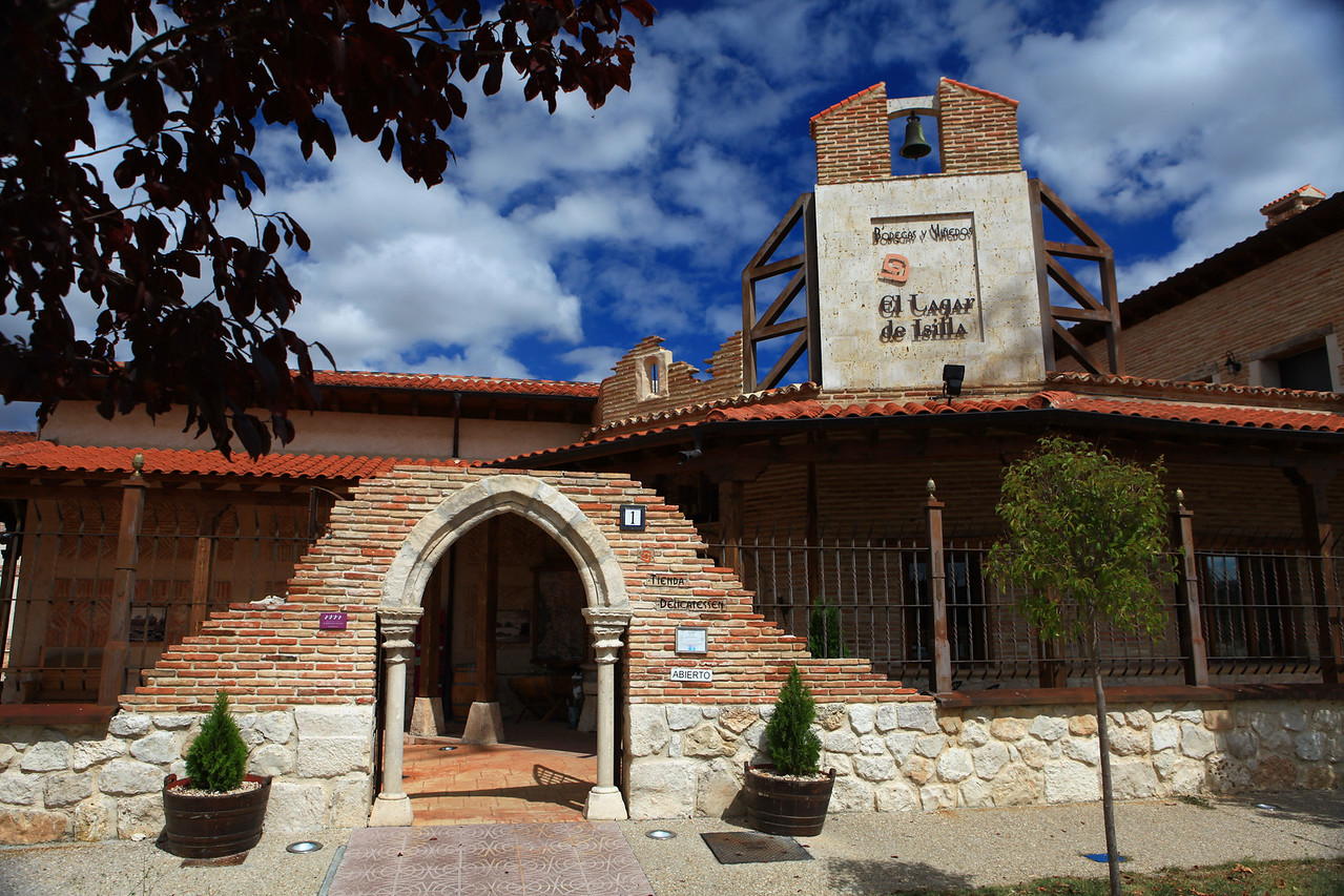 The winery was rebuilt around 2000 utilizing some of the original materials.