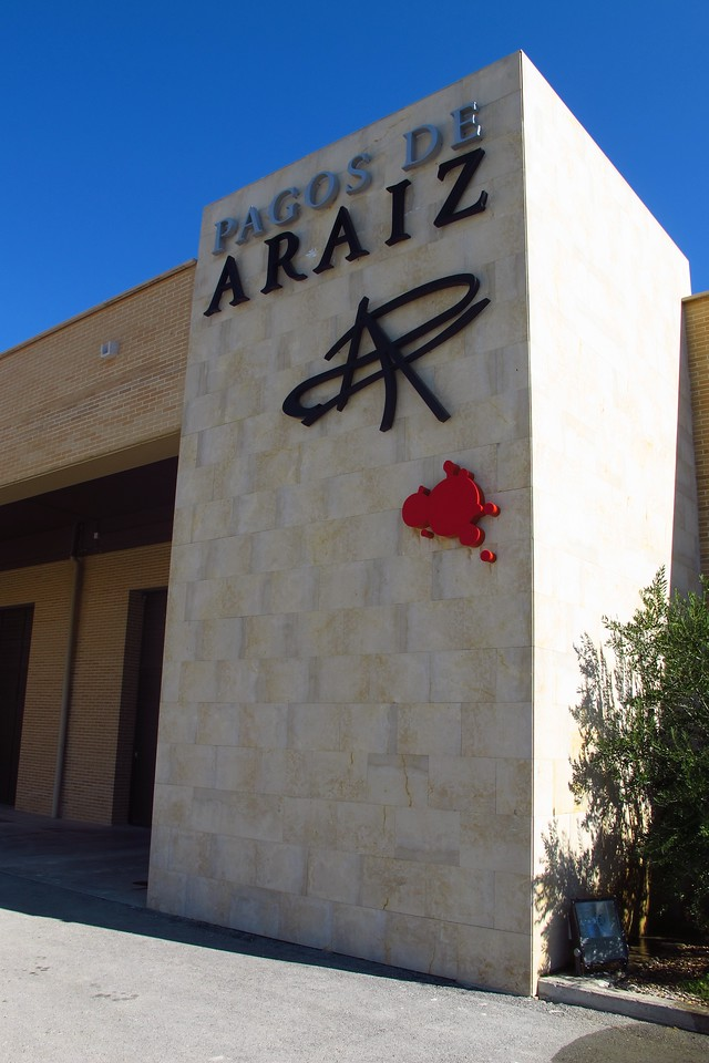 Just outside of Olite, is Pagos de Araiz winery.  It is owned by the Masaveu family and has been since 2000.  The Masaveu family is well known throughout the world.  It is involved in cement, shipping, wine, real estate and art on an international scale.