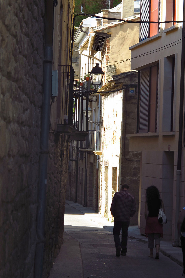 Many parts of the town are made of narrow streets and passage ways.