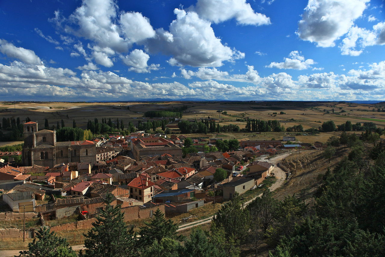 Penaranda de Duero has a population of around 600 people.