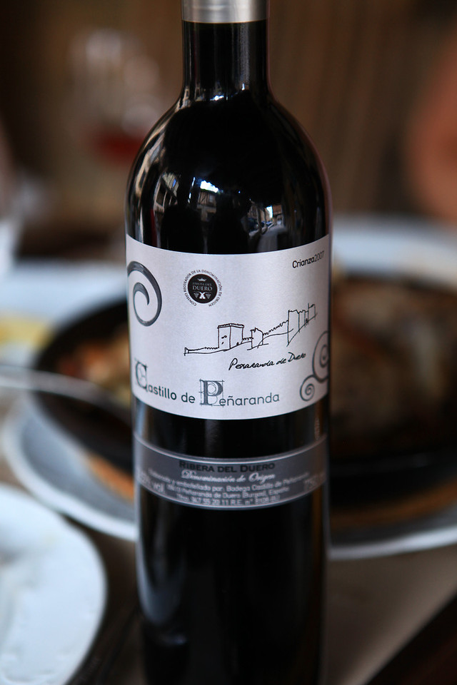 Being in the heart of Spain's wine country, there are many local wines that aren't available anywhere else.