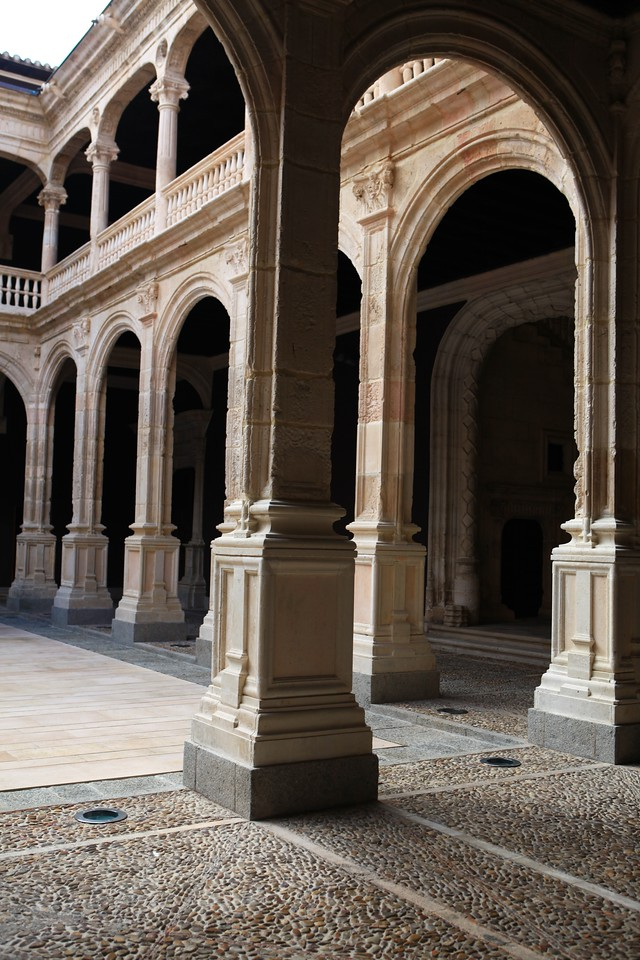 Off to one side of Palace Square is the Palace of the Counts of Miranda, or Avellaneda.  It's currently being refurbished and restored.