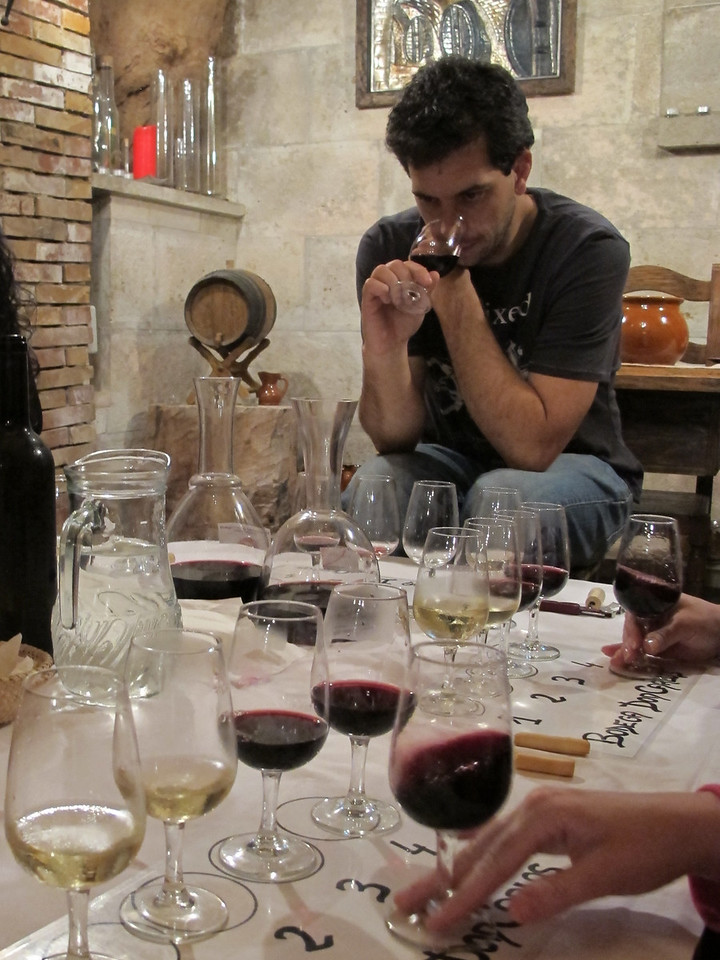 Wine tastings are a whole different experience when you have them in such a historic cellar.