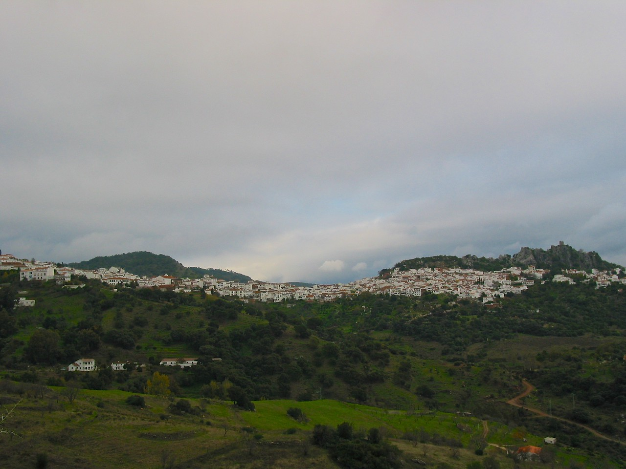 As you leave Ronda and head back towards the coast, you pass many of the white washed cities of Andalusia.