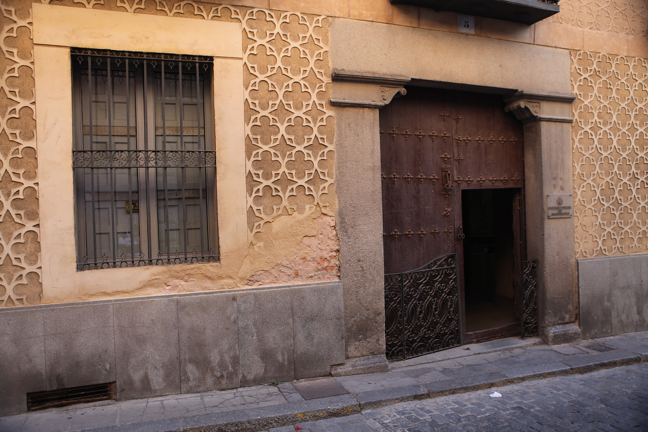 Many of the buildings in Segovia are hundreds of years old with amazing detail.