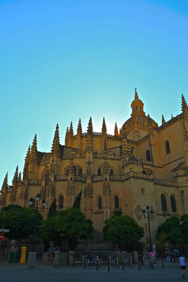"""The Segovia Cathedral is the last Gothic cathedral built in Spain. It is considered the masterpiece of Basque-Castilian Gothic and is known as """"The Lady of Cathedrals."""""""
