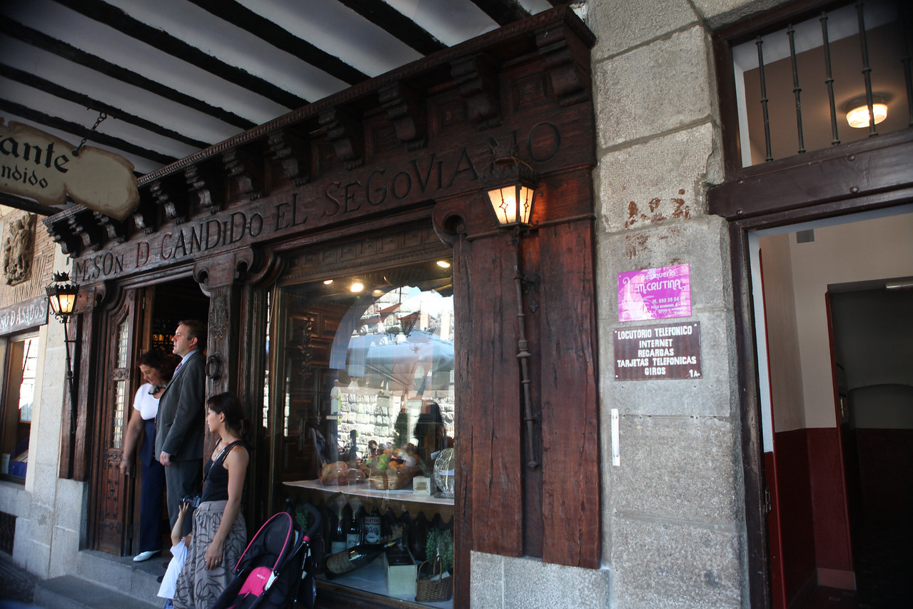 Meson de Candido, a restaurant and inn, have been in Segovia since 1786.  It has been owned and run by the current family since 1905.
