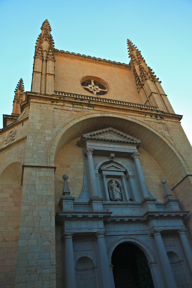 Construction began on the cathedral in 1525 and was finally concluded in 1615.  It was not consecrated as a church until 1768.