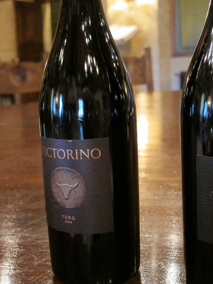 Victorino is from the Teso la Monja winery located in eastern spain in the Toro region.  The grape is 100% Tinto de Toro from vines over 45 years old.