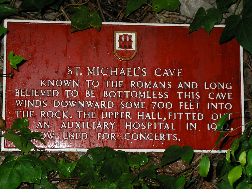 St Michael's Cave is a network of limestone caves located in the Upper Rock. It is the most visited of the more than 150 caves found inside the Rock of Gibraltar, receiving almost 1,000,000 visitors a year.
