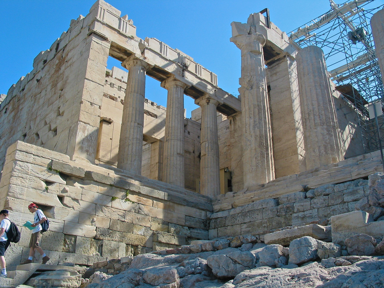 In 1975, the Greek government began a concerted effort to restore the Parthenon and other Acropolis structures. After some delay a Committee for the Conservation of the Acropolis Monuments was established in 1983. The project later attracted funding and technical assistance from the European Union. An archaeological committee thoroughly documented every artifact remaining on the site, and architects assisted with computer models to determine their original locations. Particularly important and fragile sculptures were transferred to the Acropolis Museum.